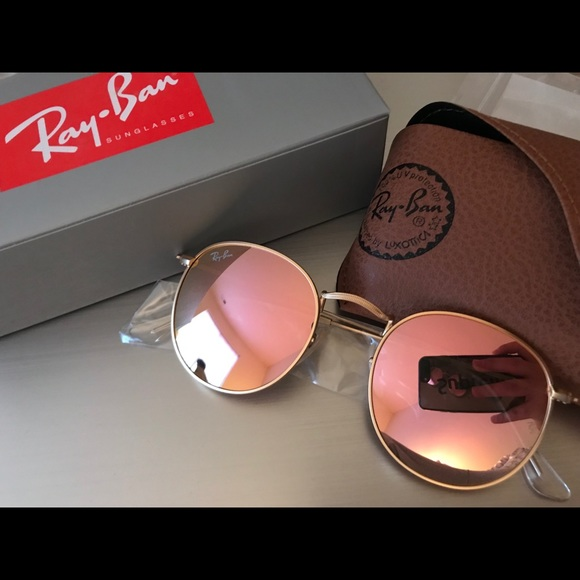 Ray-Ban Accessories   Brand New Rayban Rb3447 Round Metal 112z2 5021 ... 0a1b19f58d